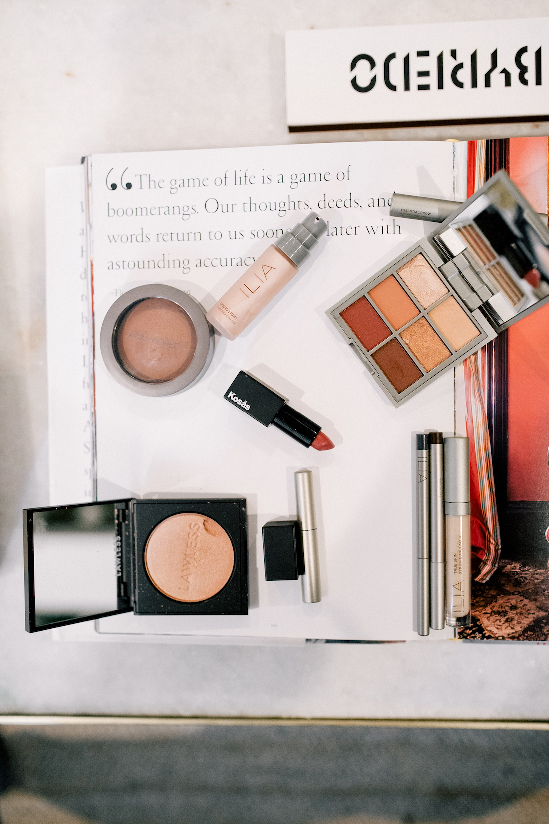 the best makeup products for a toxin free makeup routine