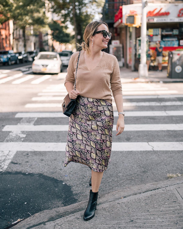 midi skirts fall trends