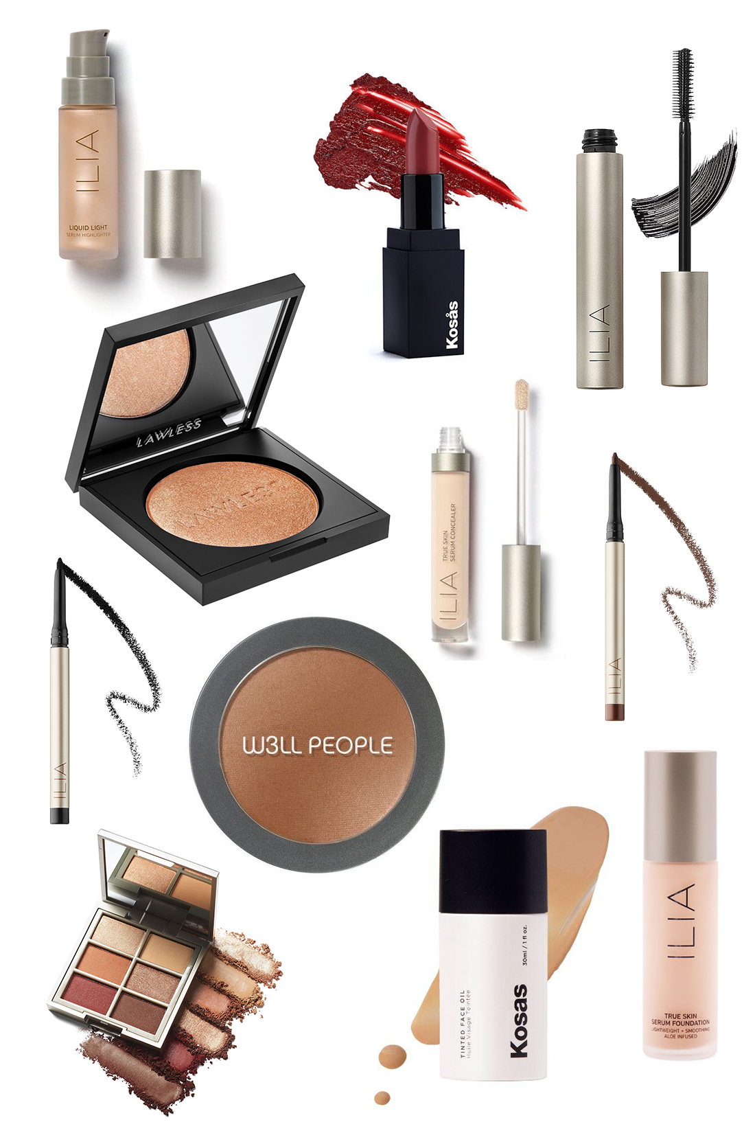 chemical free makeup brands and products - the stripe