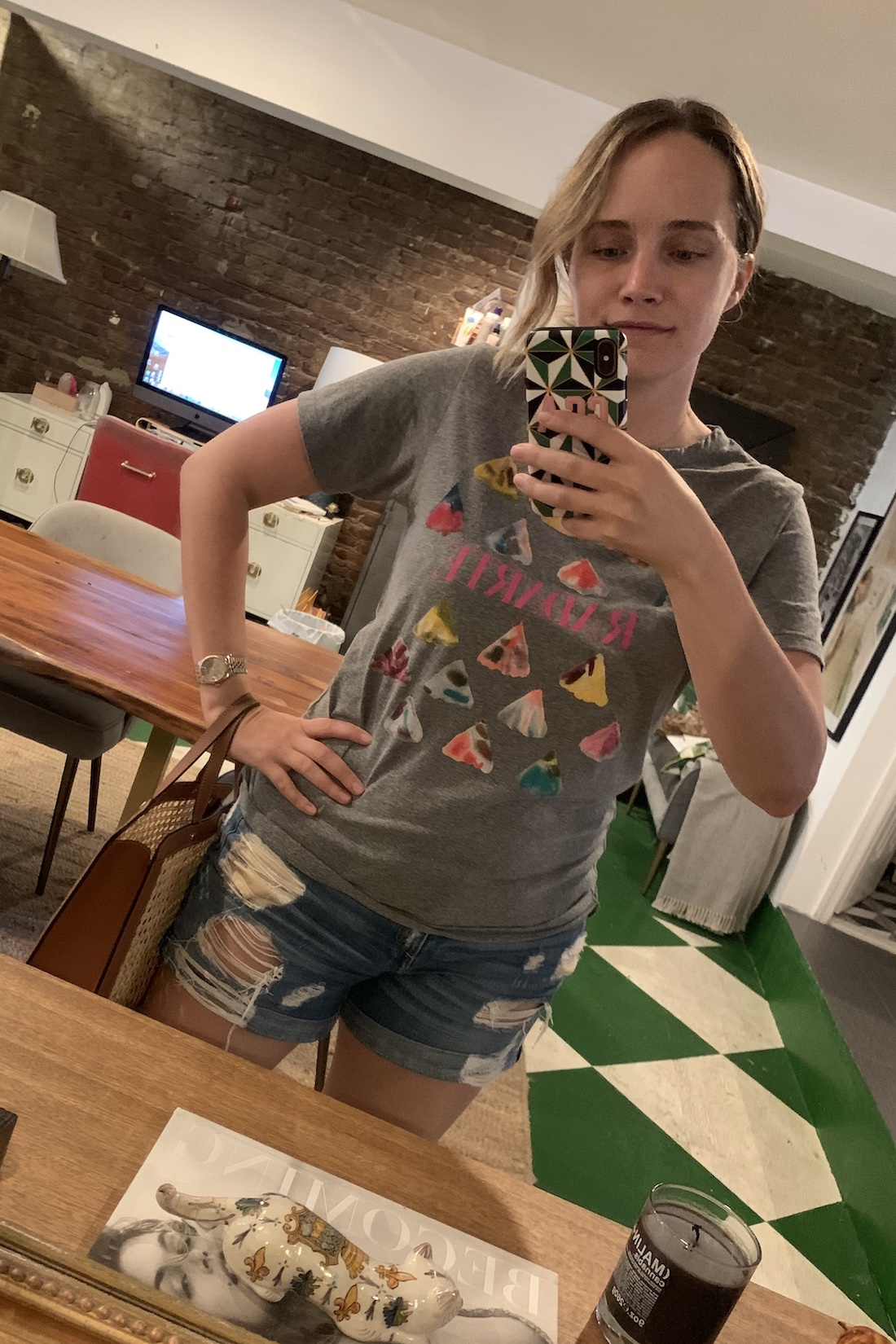 distressed shorts What I Actually Wore: 9.14 - 9.20