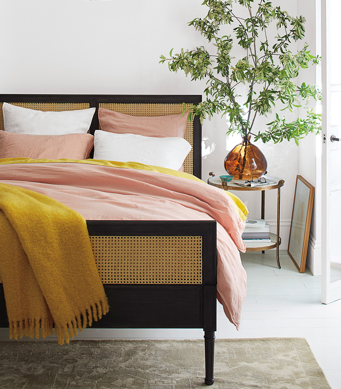 Ugh I Really Want A Caned Bed The Stripe Blog