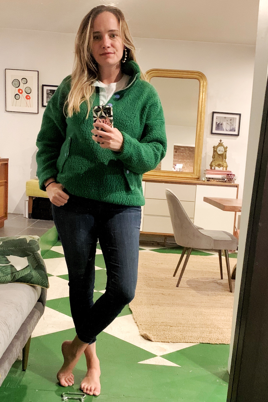 fleece jacket - What I Actually Wore: 9.28 - 10.4