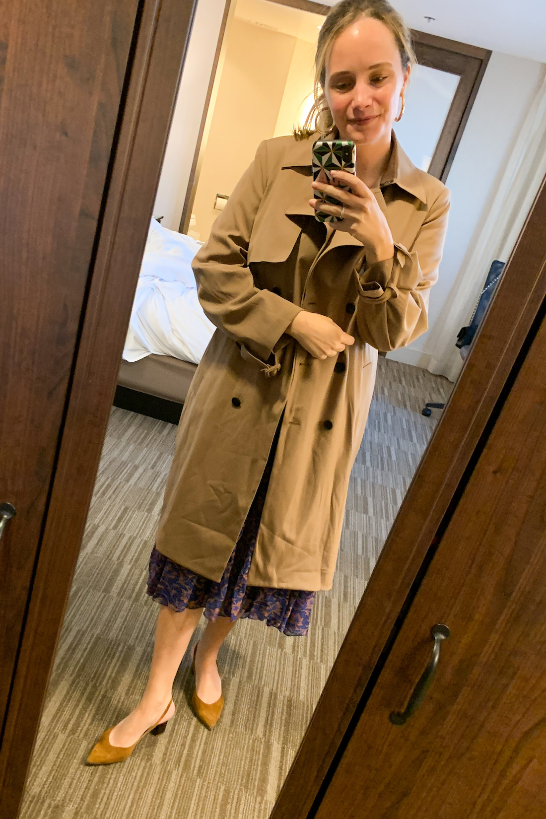 trench coat - What I Actually Wore: 9.28 - 10.4