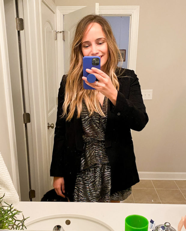 What I Wore: 12.28 – 1.3.   The Stripe