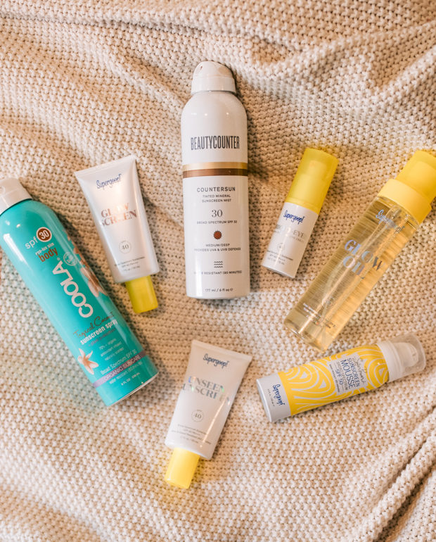 My 7 Favorite SPF Products