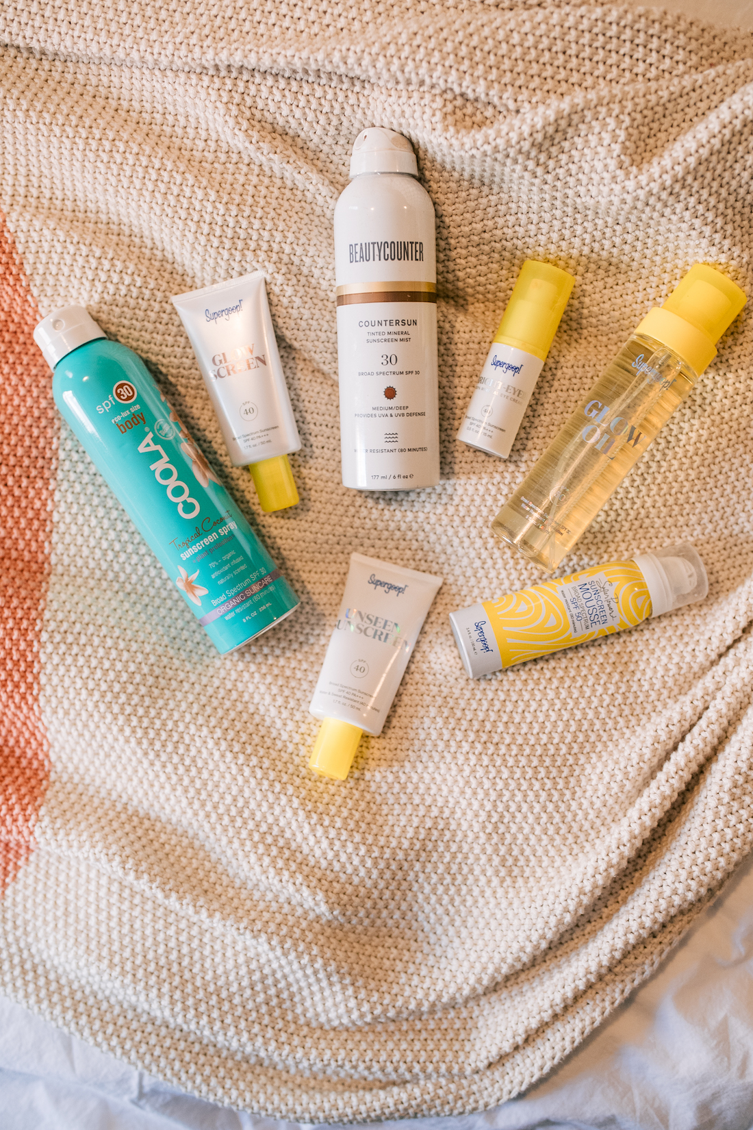 My 7 Favorite SPF Products.