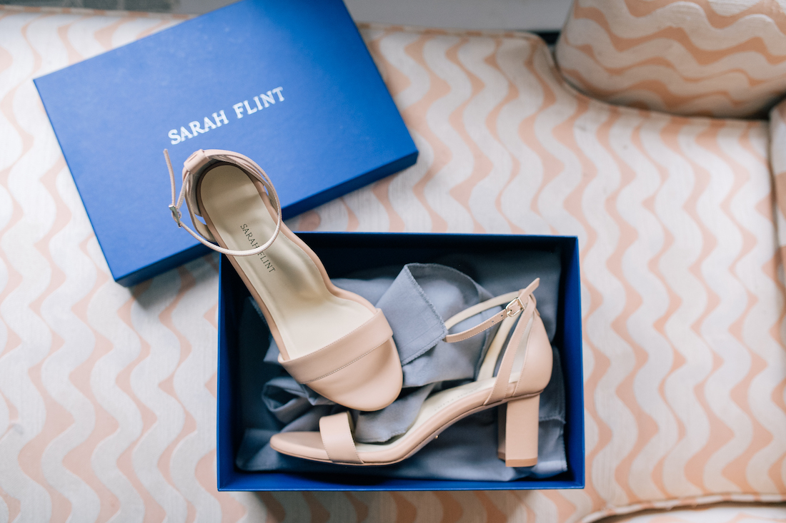 Sarah Flint block heel sandals