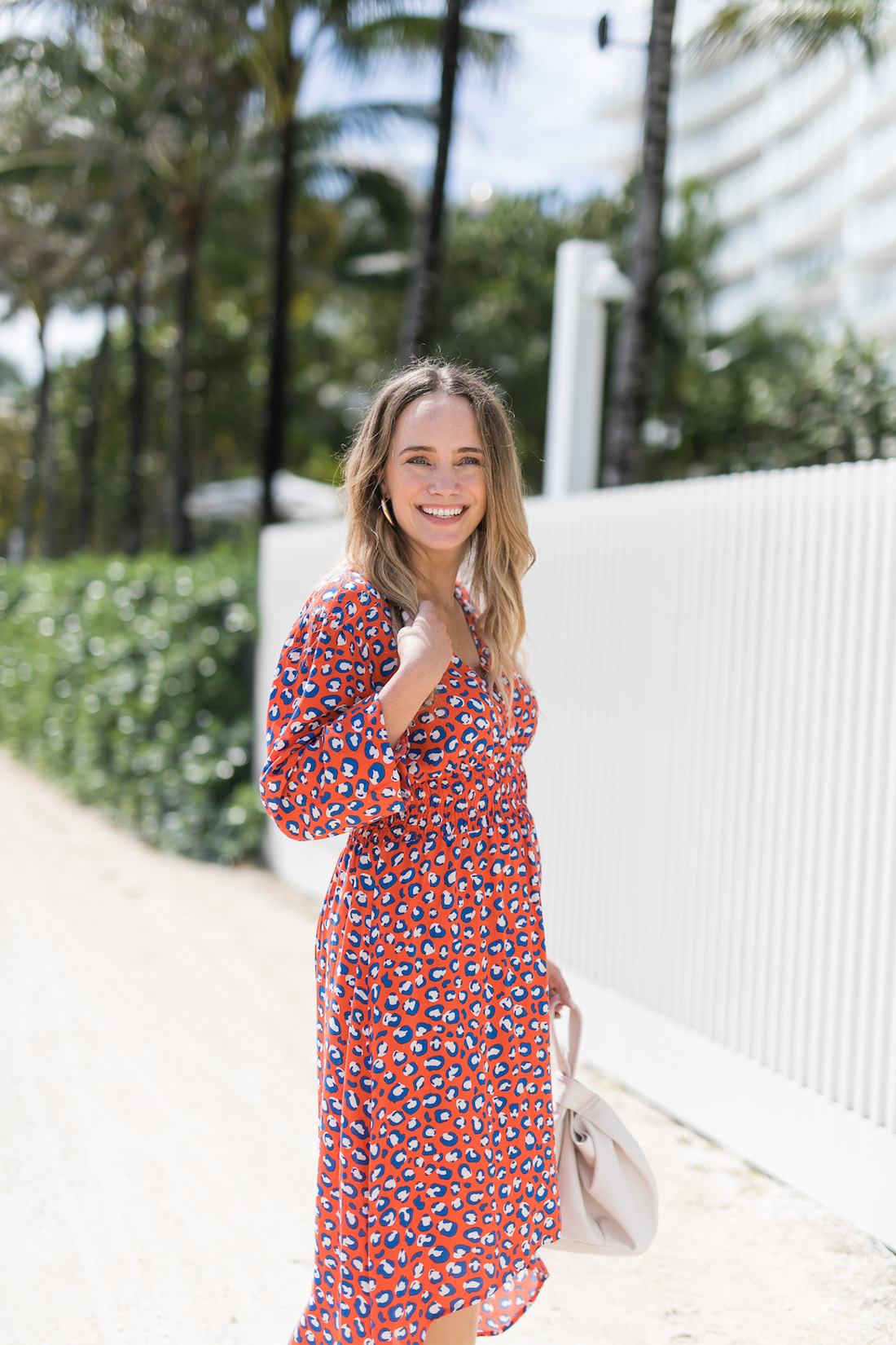 The fancy (but still beachy!) dress.