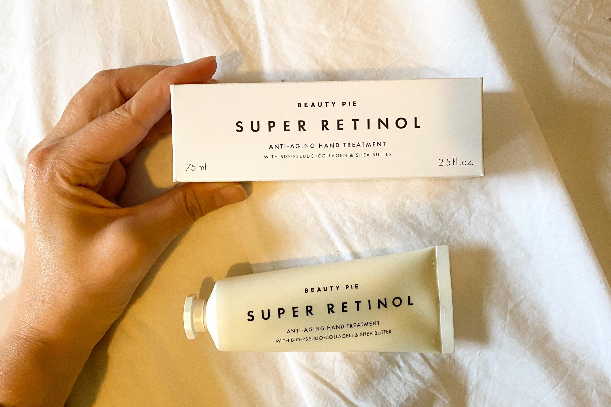 Super Retinol Anti-Aging Hand Cream.