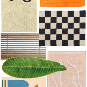 The Best Bath Mats + Some Cool Indie Home Shops.