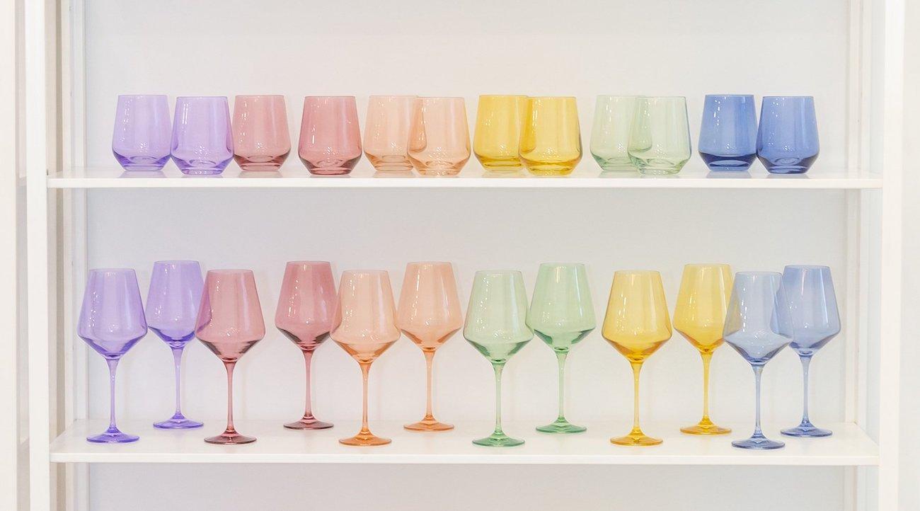 colored glass