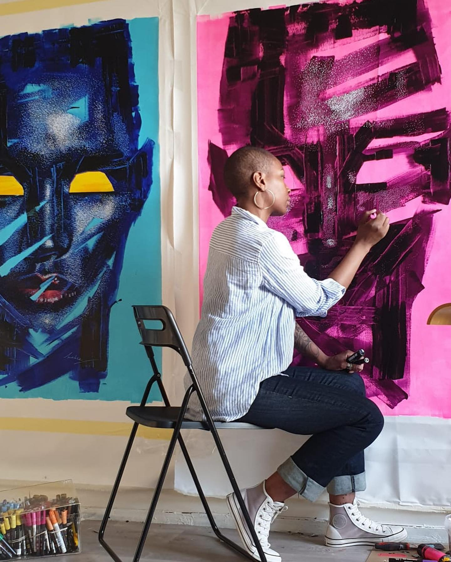Six Incredible Black Artists to Fall in Love With.
