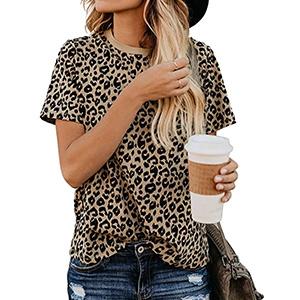 Leopard Print Tee