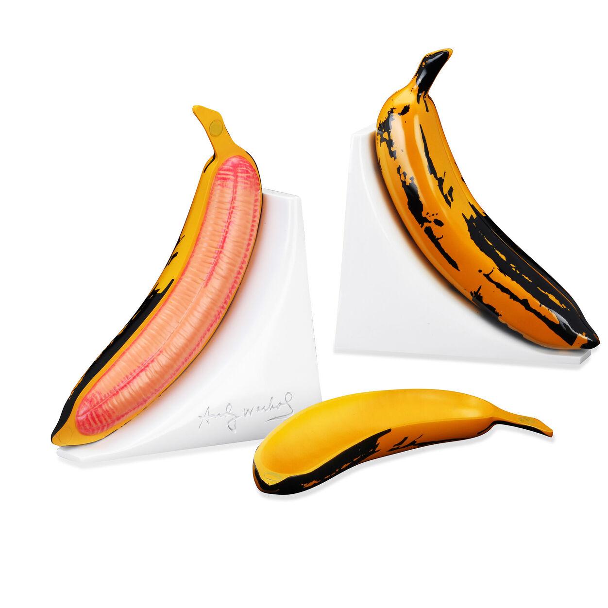 Andy Warhol Banana Bookends