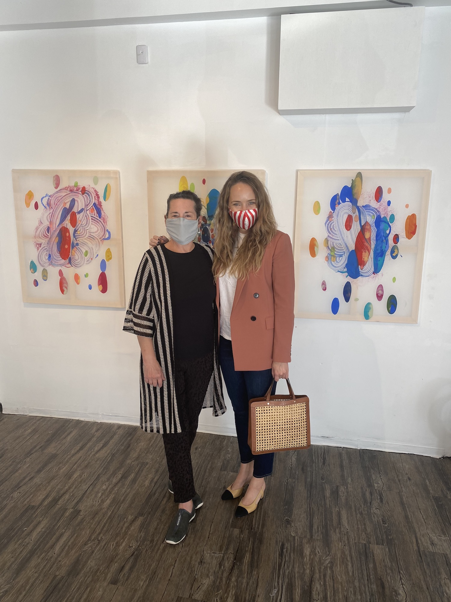 Catherine Howe Exhibit with Grace Atwood of The Stripe