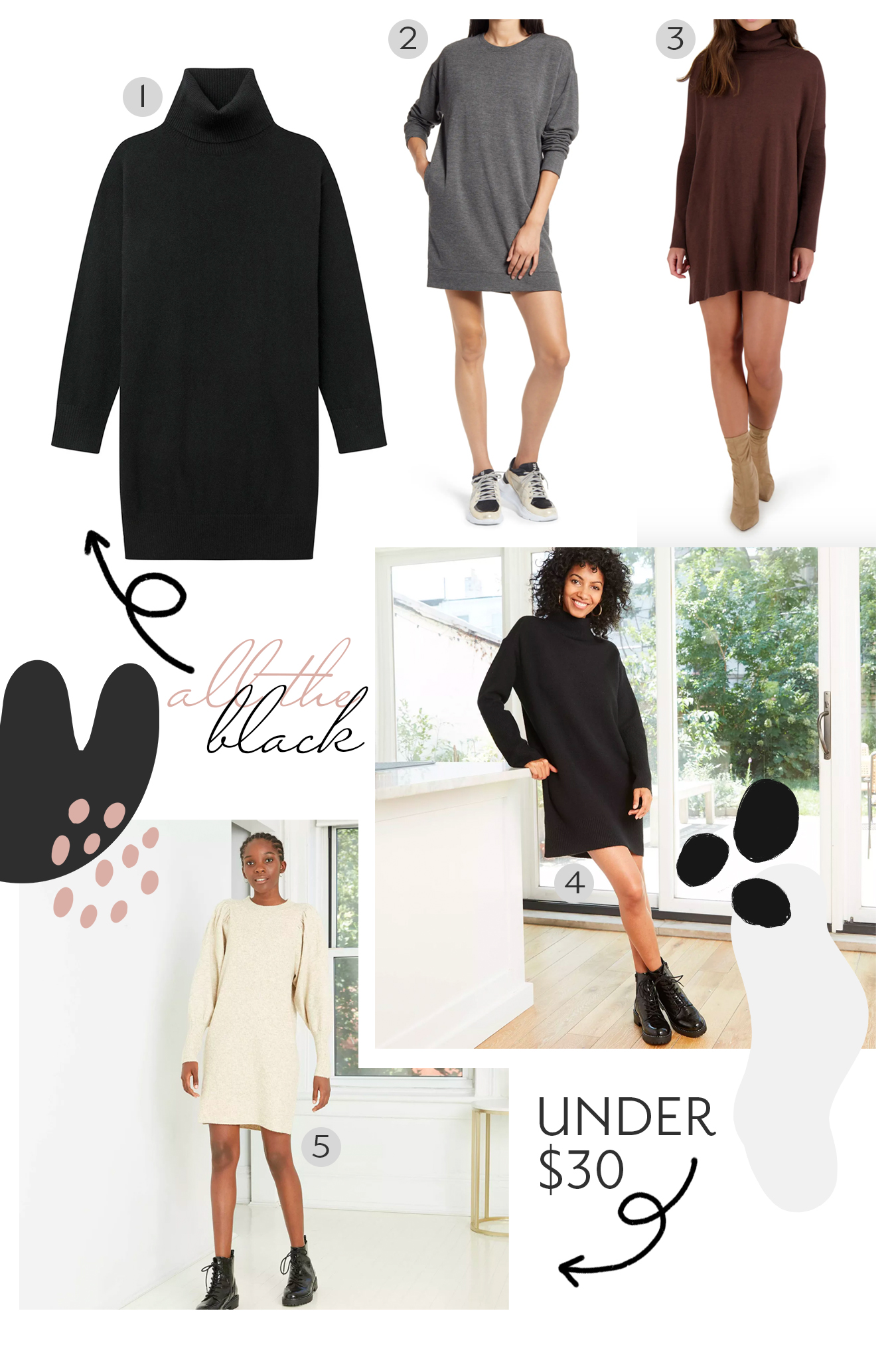 My Favorite Sweater Dresses