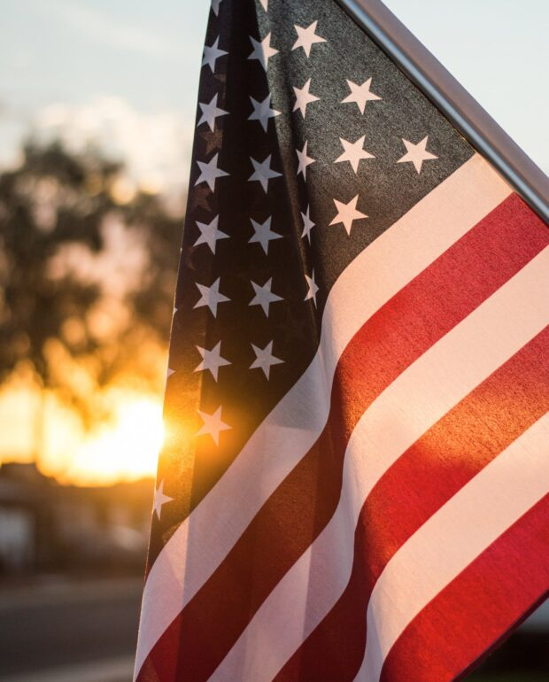 USA flag | What's Giving You Hope?