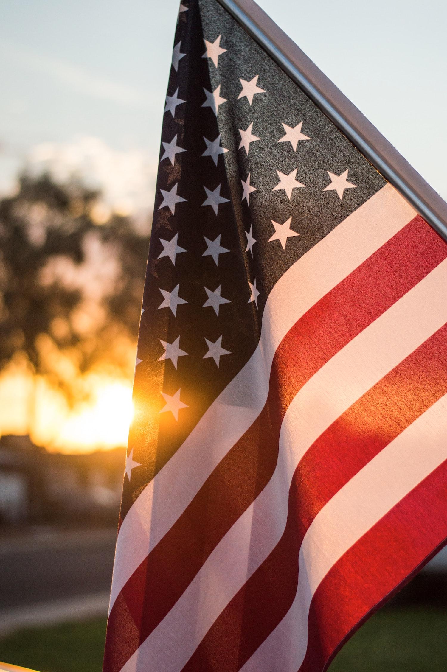 USA flag | Whats Giving You Hope?