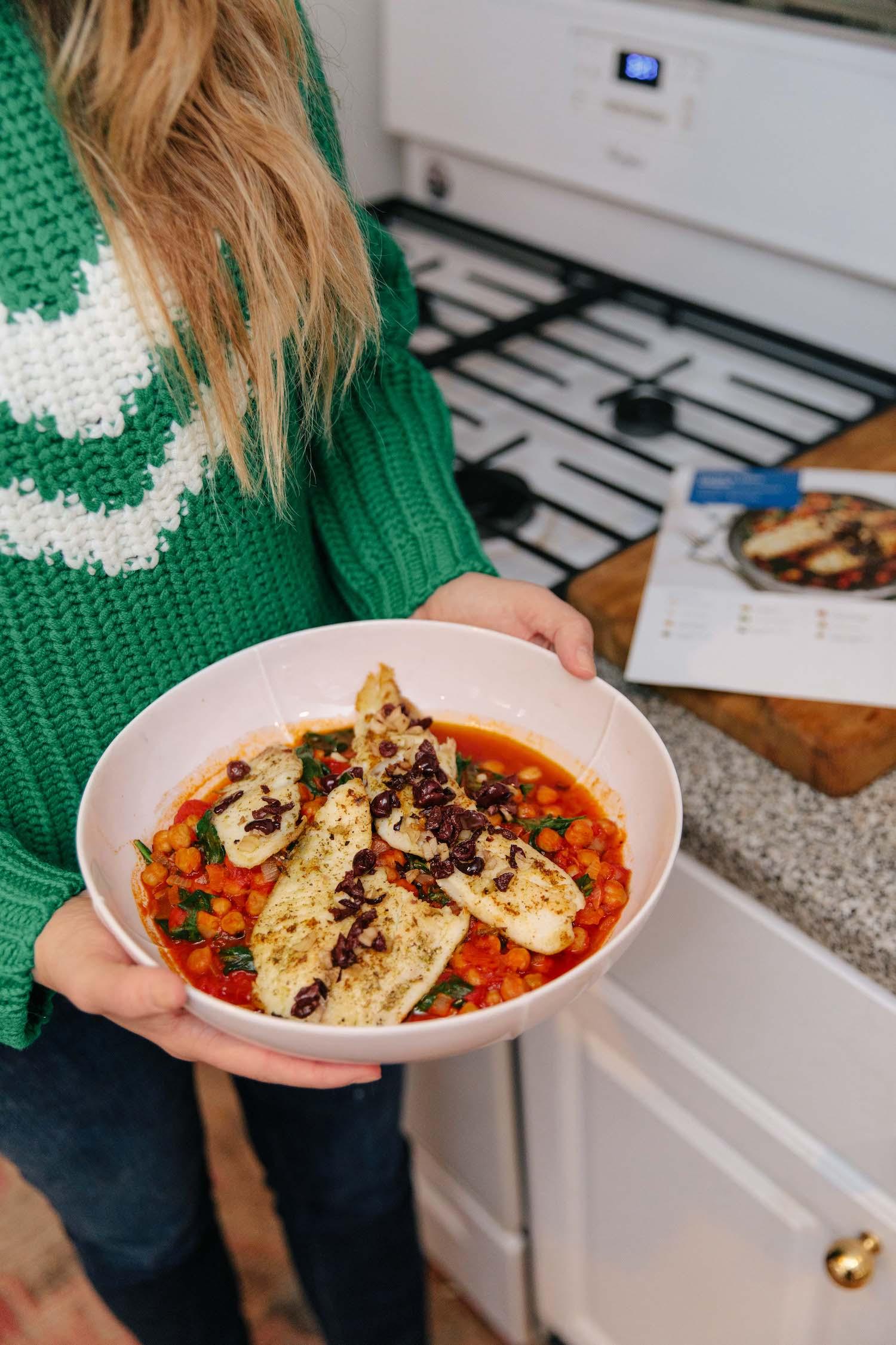 Blue Apron well balanced meals | A Healthier Mindset