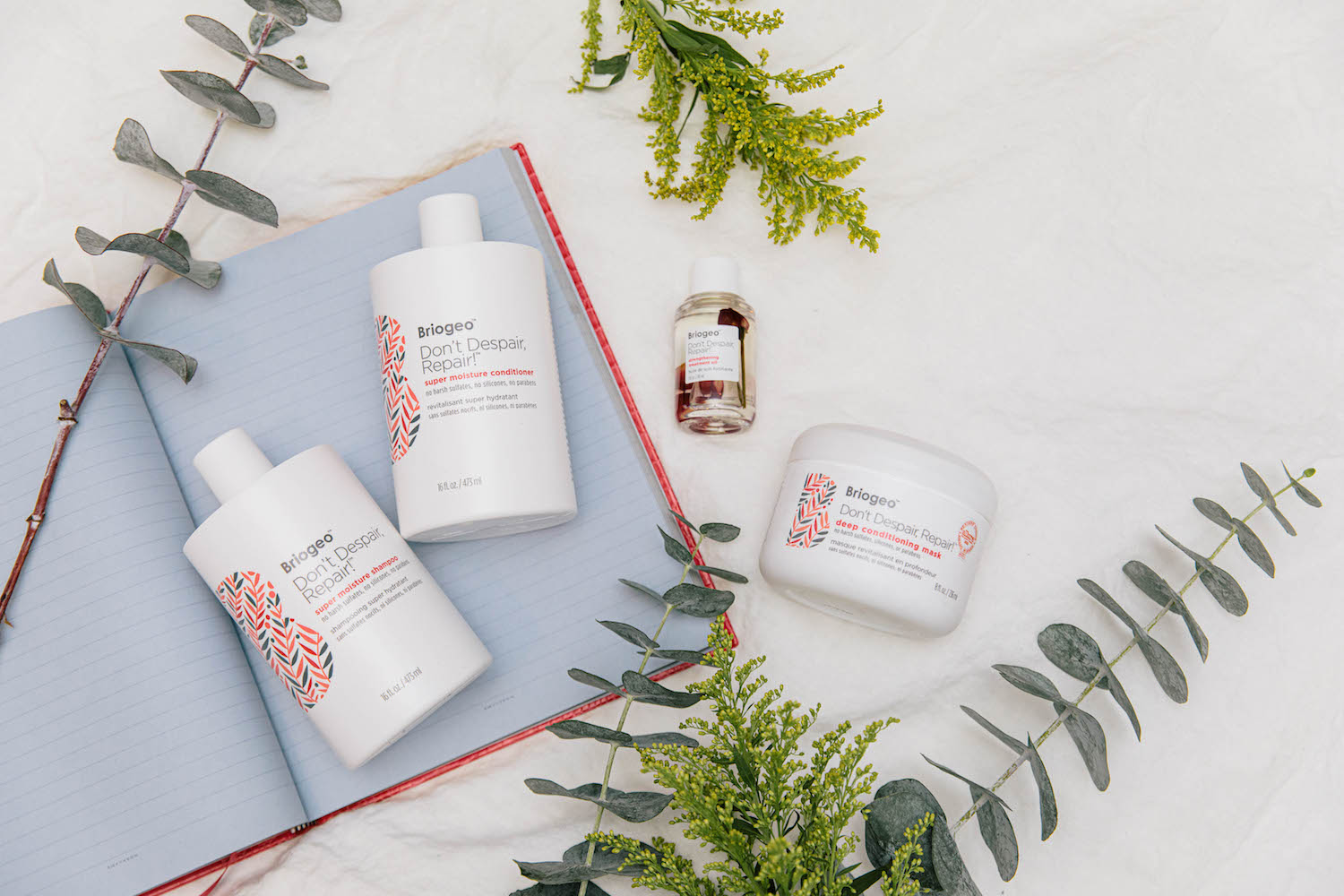 My Favorite Products for Dry or Damaged Hair