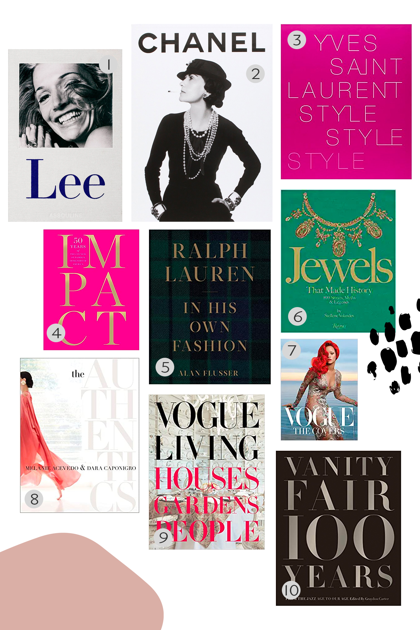 fashion + people book recommendations