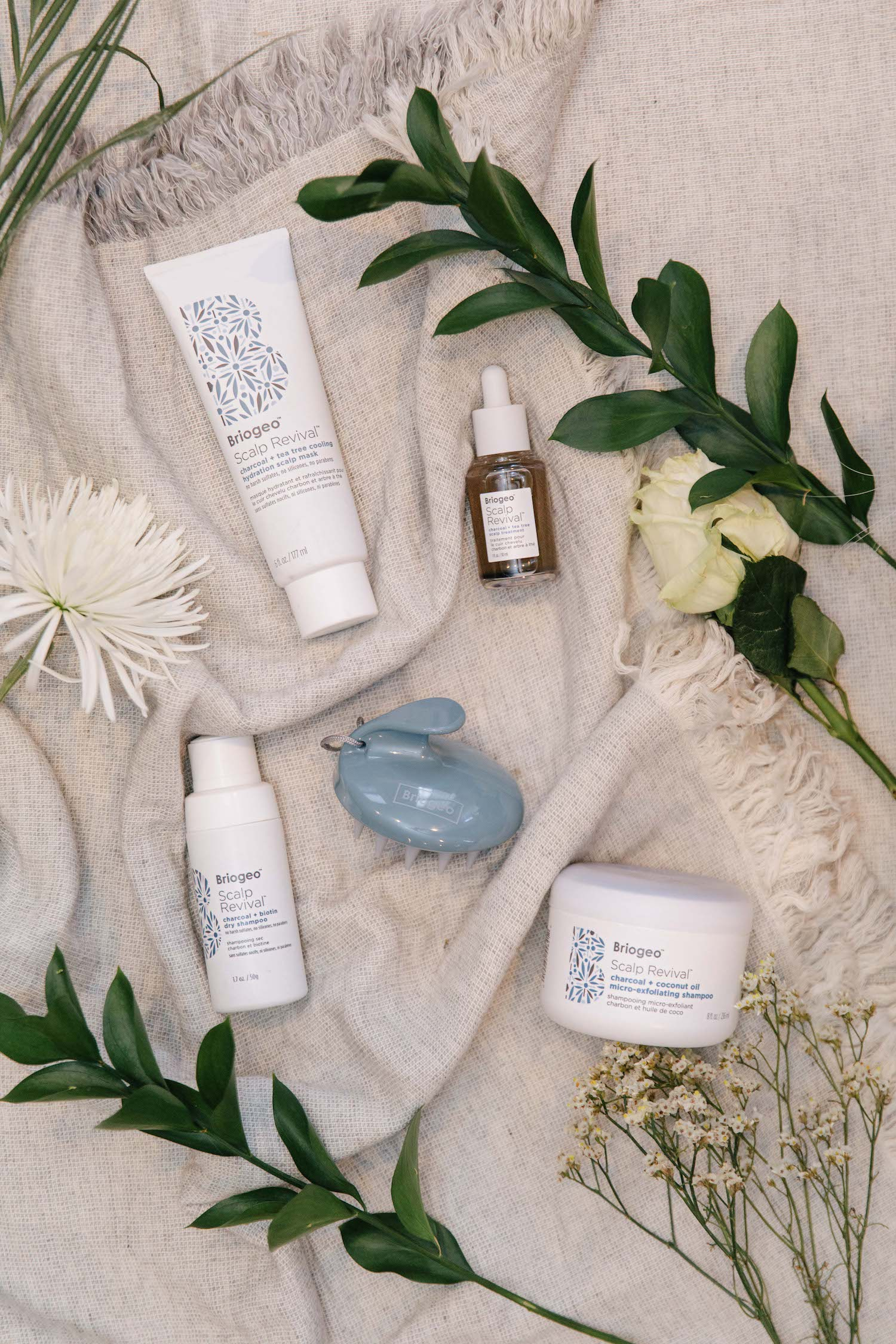 briogeo products | A Facial for Your Scalp