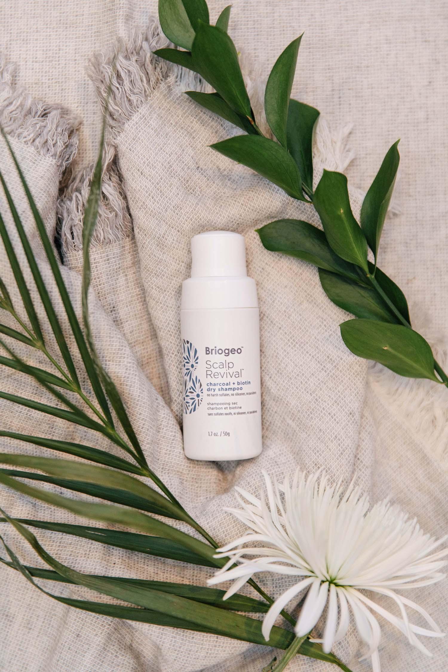 briogeo biotin + charcoal dry shampoo