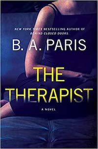 The Therapist, by B.A. Paris