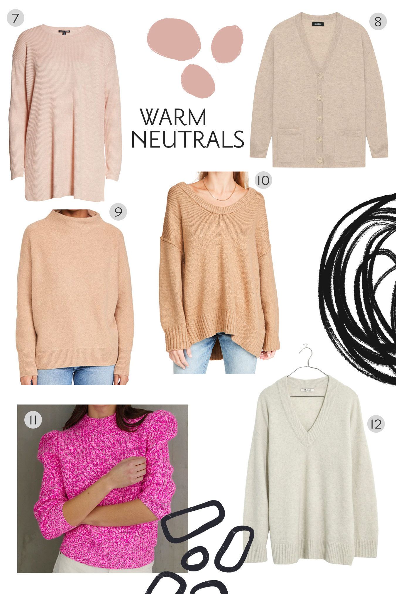 The Best Cozy Sweaters