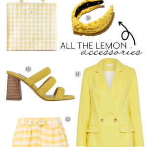 Lemon Yellow Cravings.
