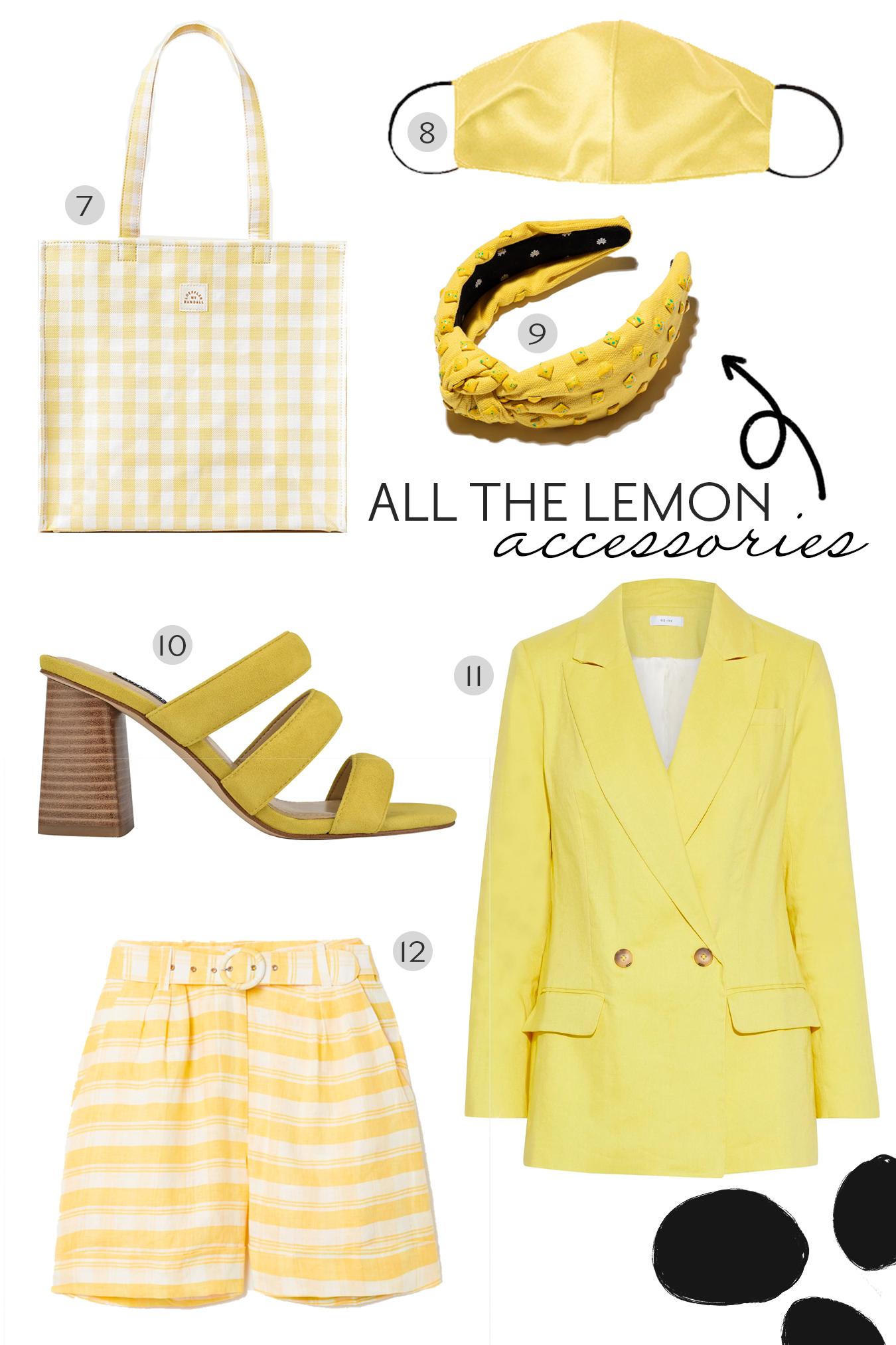 Lemon Yellow Cravings.