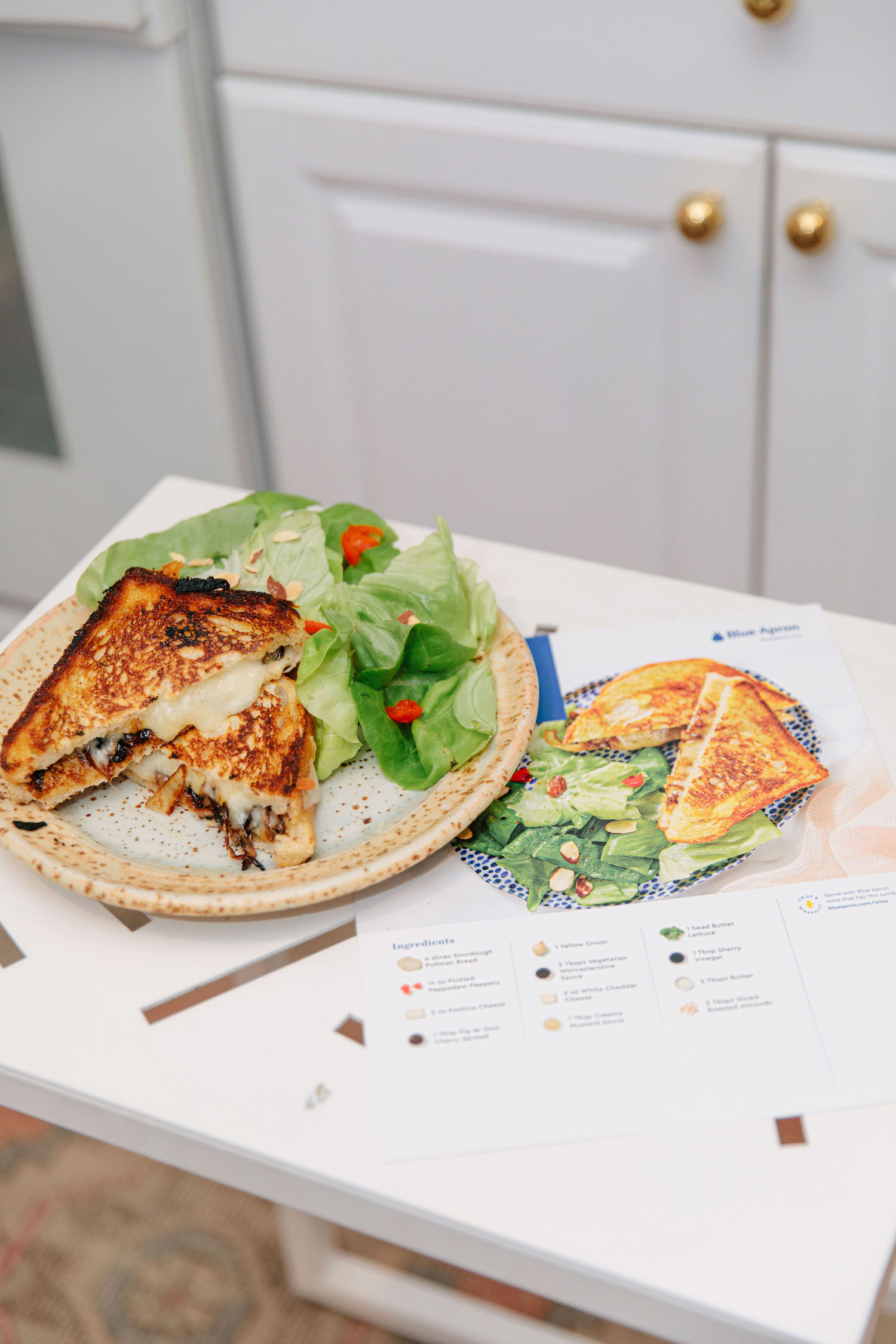 Caramelized Onion Grilled Cheese Blue Apron