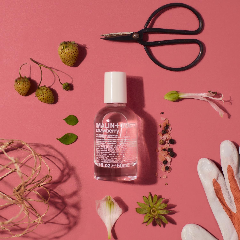 Malin + goetz's limited edition strawberry EDP