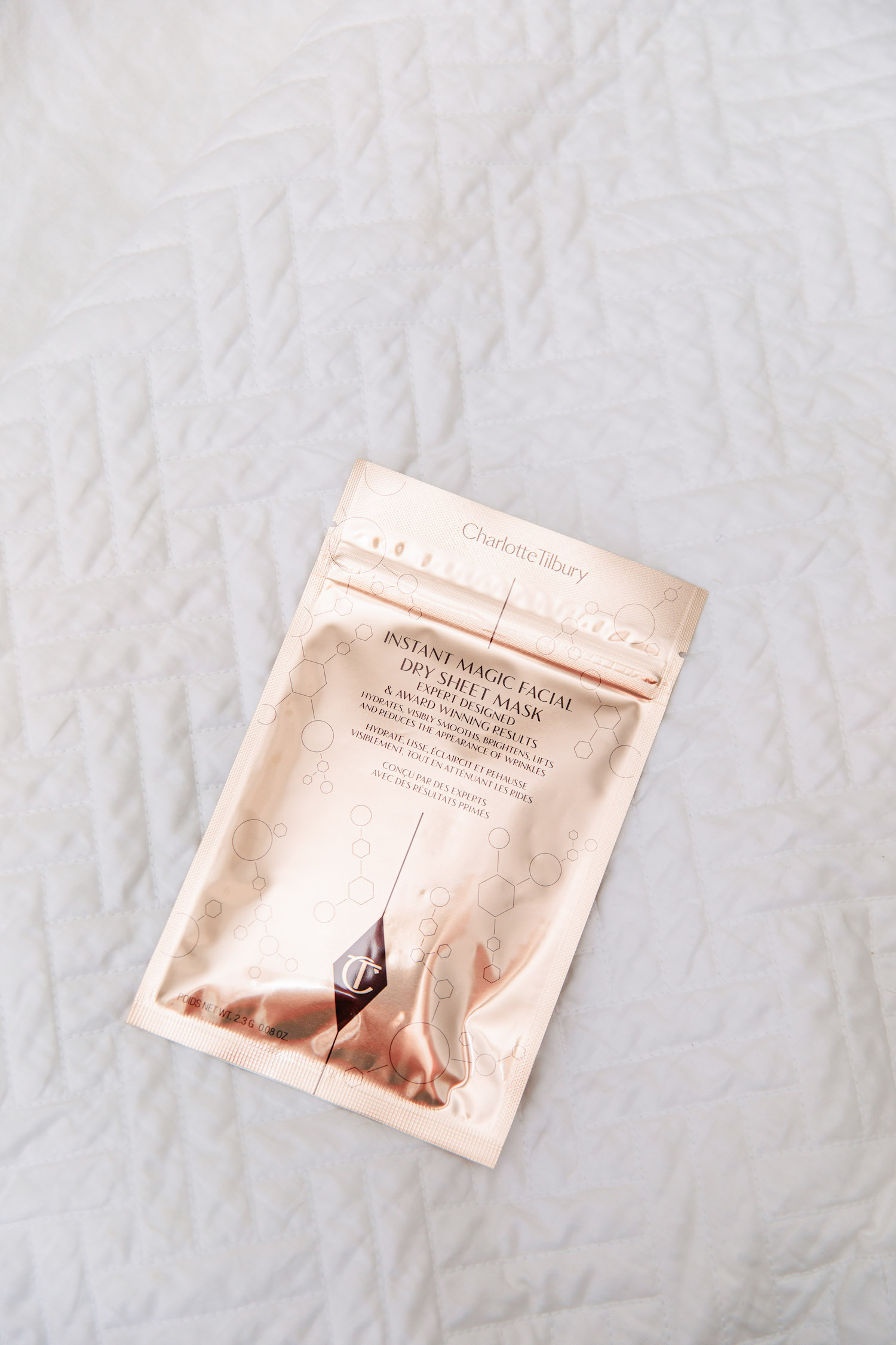 Charlotte Tilbury's Dry Sheet Mask | My Six Favorite Face Masks Right Now