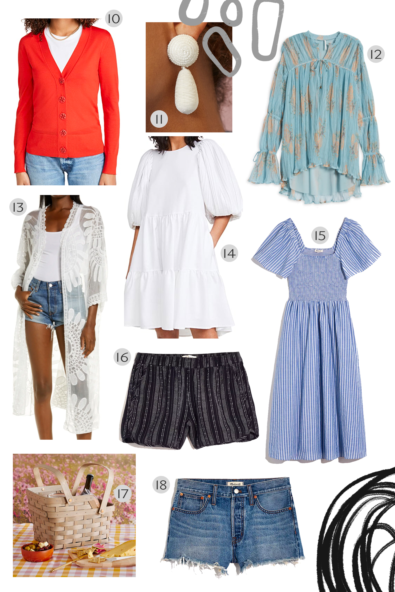 spring outfits and accessories