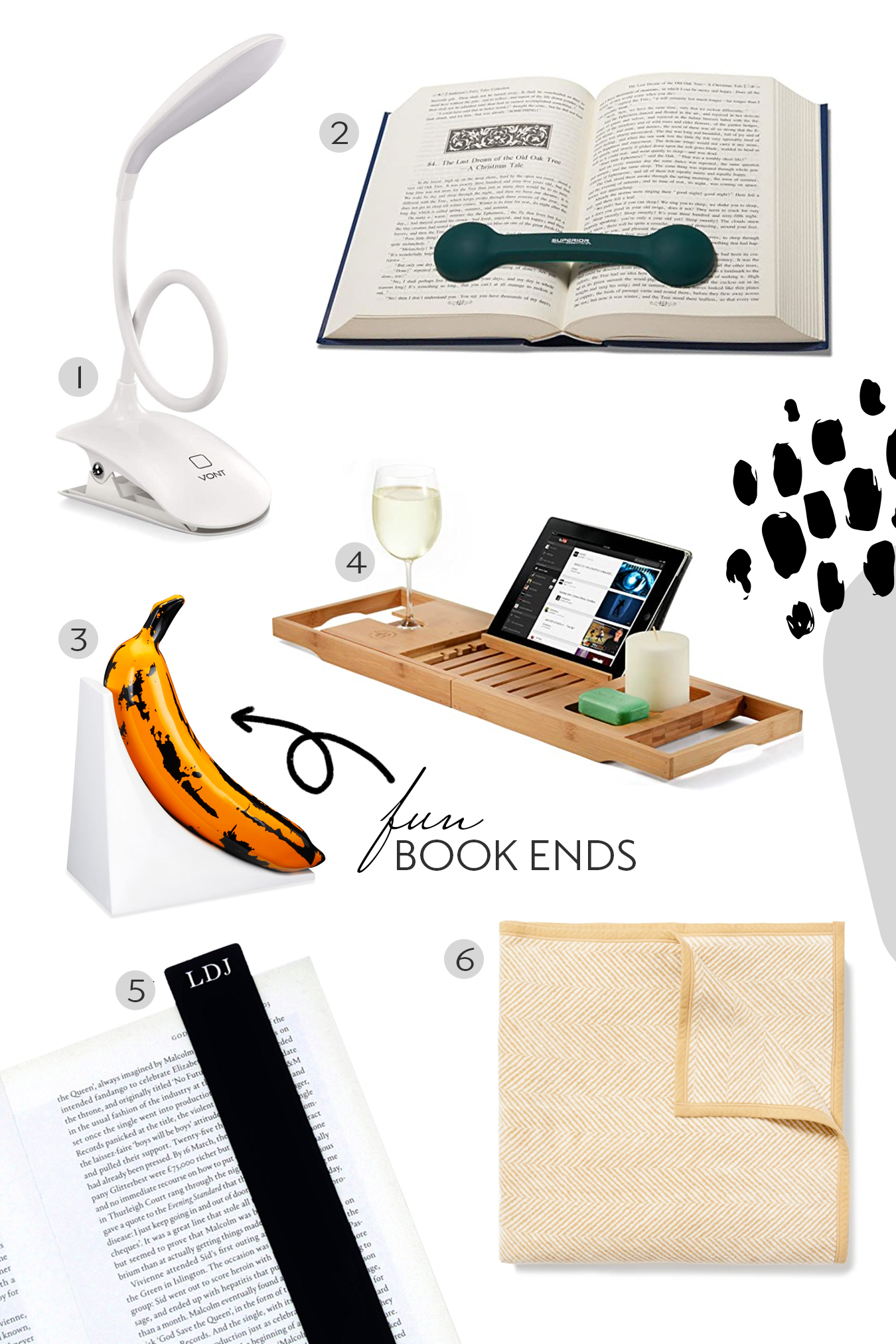 Must Have Reading Accessories