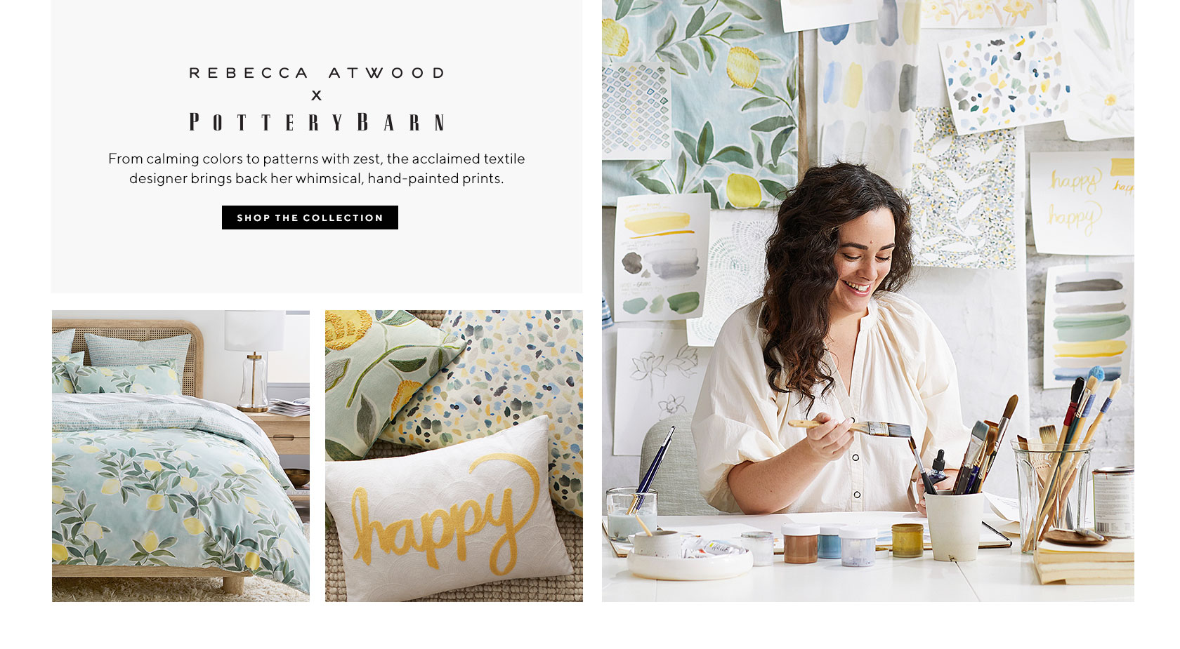 This Weeks Good Things 4.5.21 | Rebecca Atwood x Pottery Barn