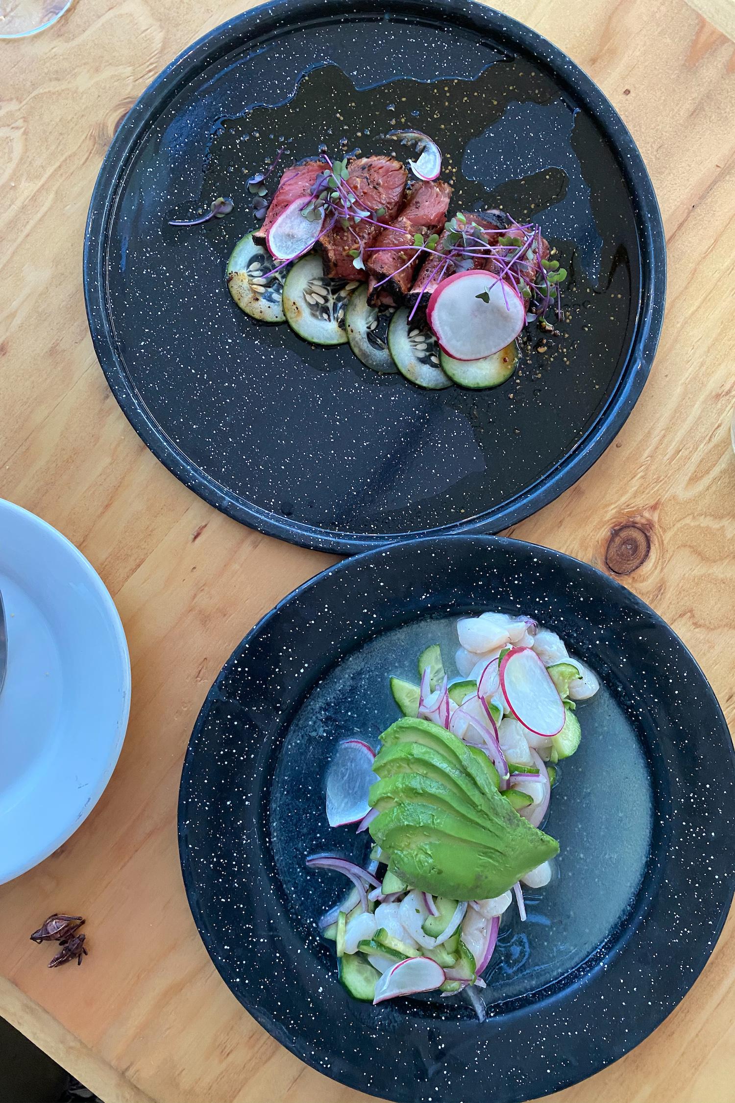 What to eat at Cuatro Cuatros in Valle de Guadalupe