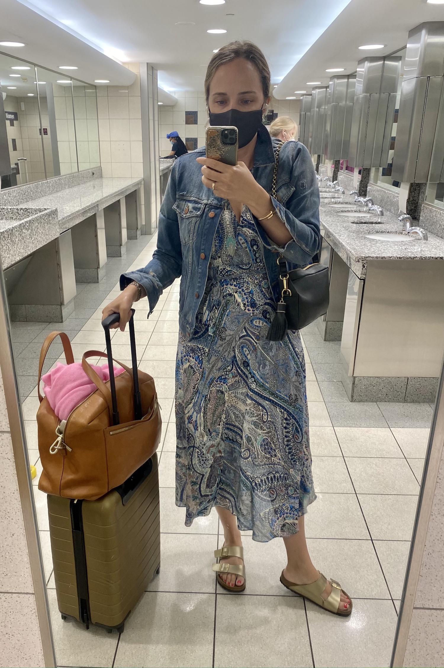 prettiest paisley dress from Ba&sh | What I Wore Last Week 6.2.21