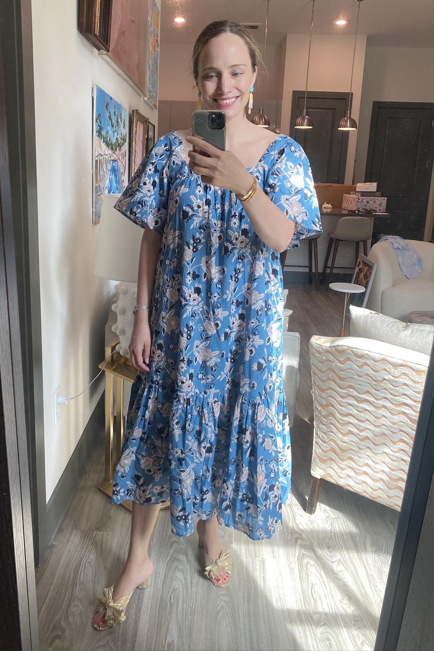 dress from Ophelia & Indigo | What I Wore Last Week 5.28.21