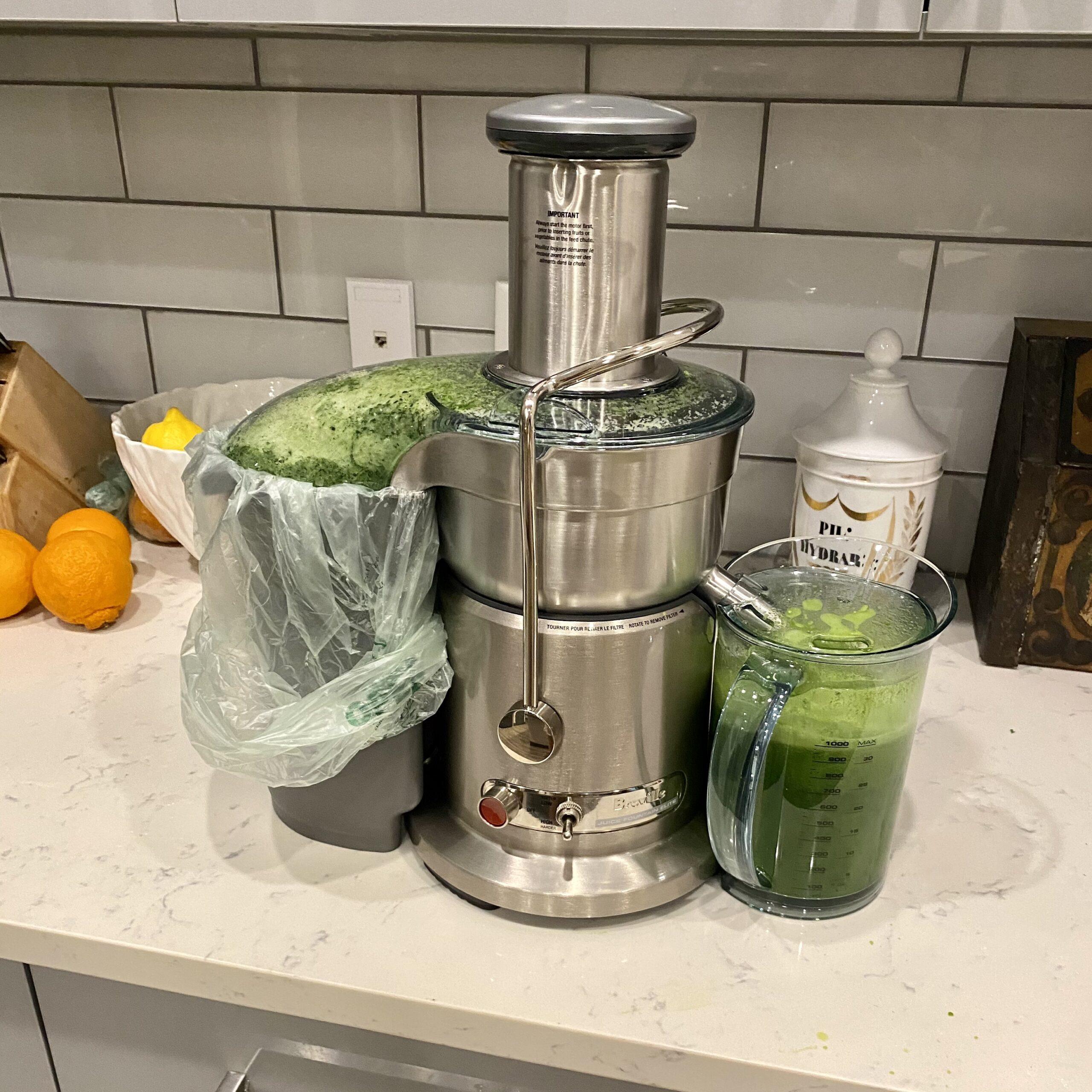 my new juicer
