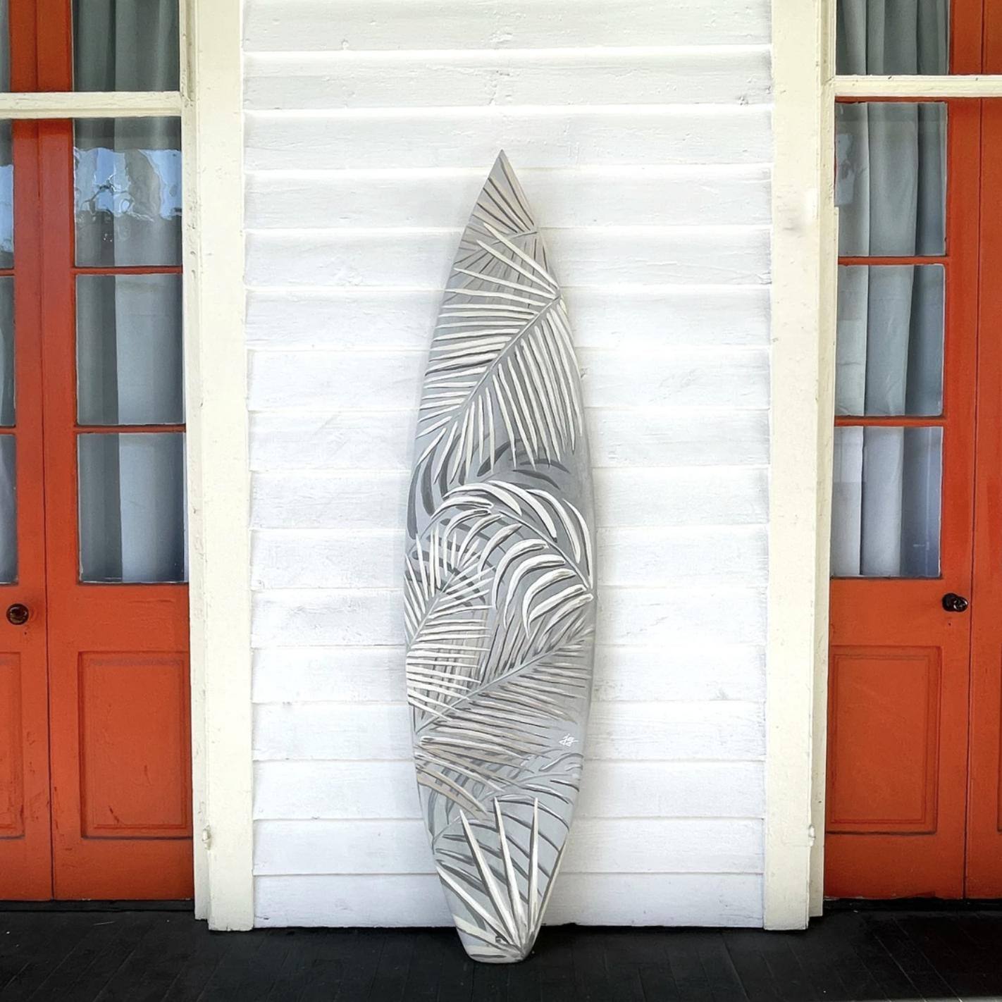 Jenn Griffith's Surfboard Art