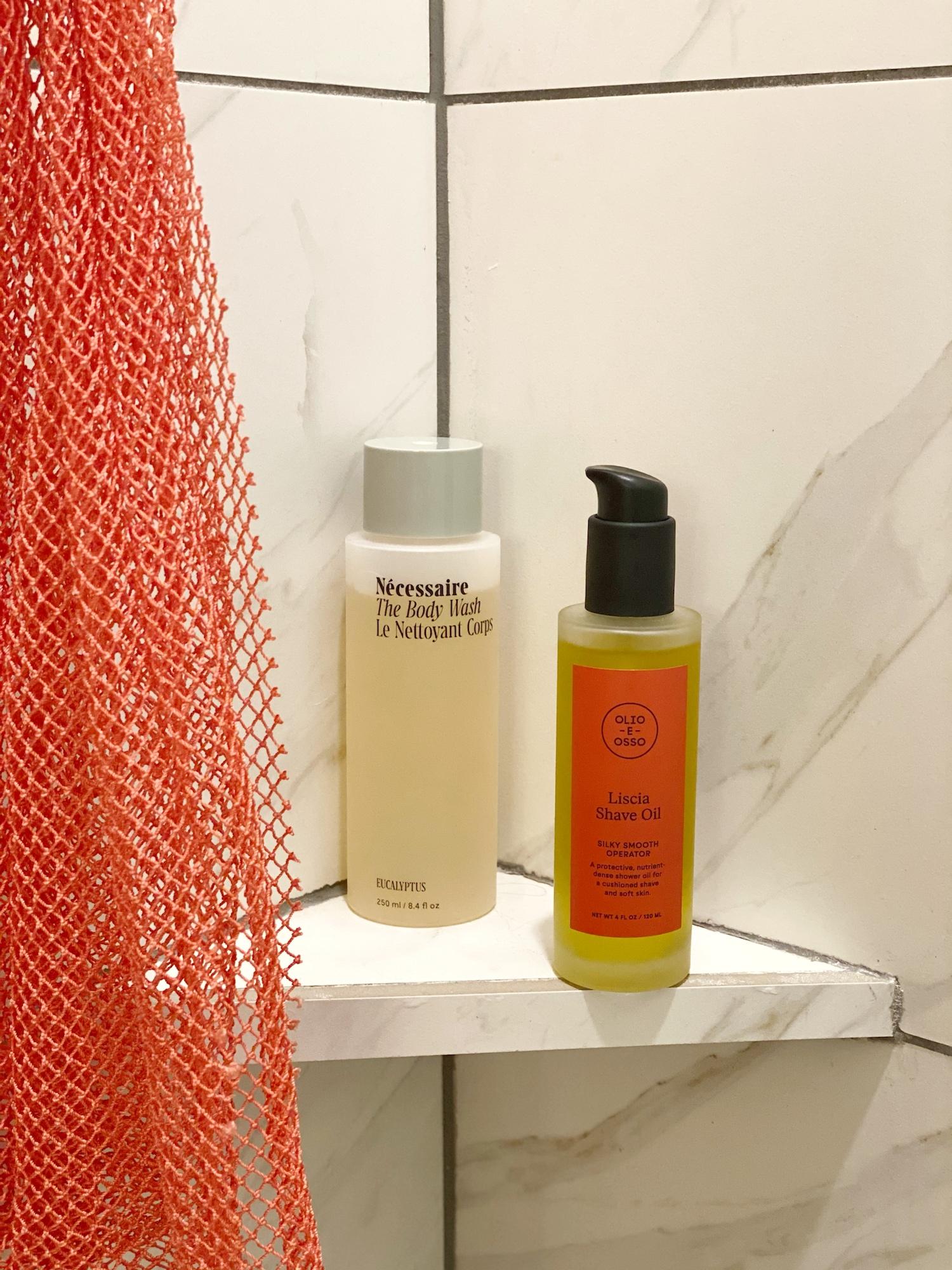 shave oil from Olio e Osso