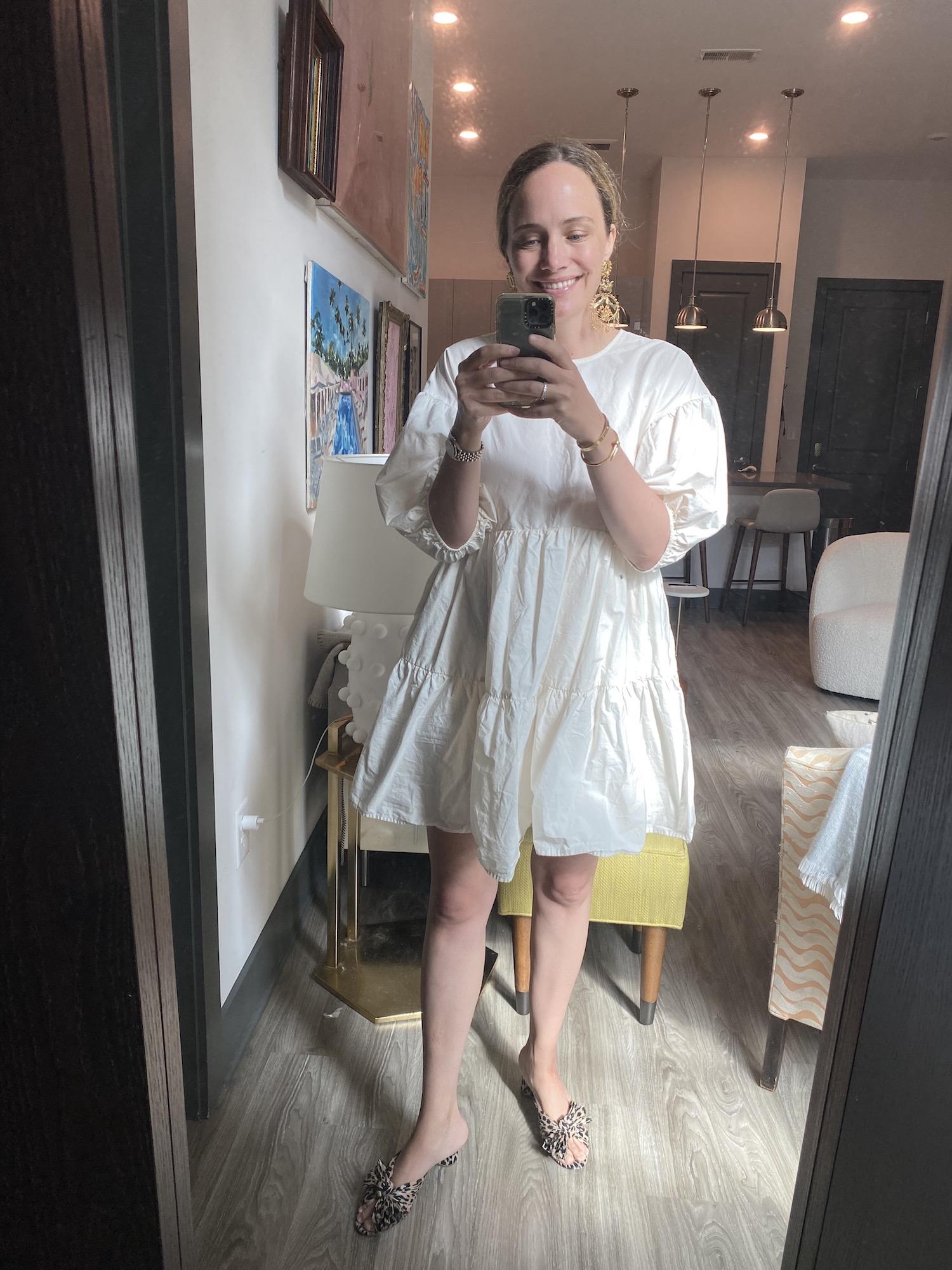 Loeffler Randall leopard heels | A Week of Outfits 5.19.21