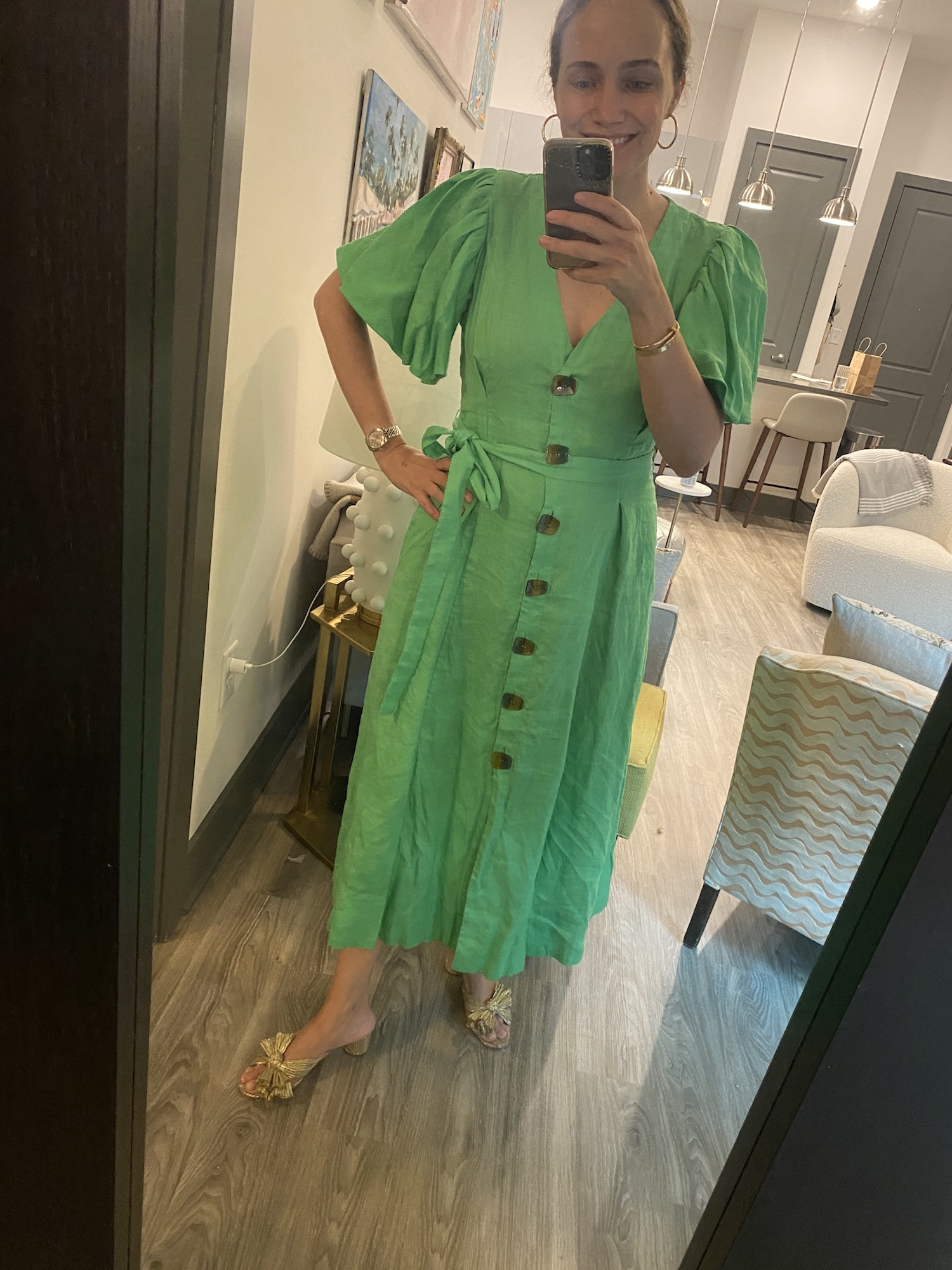 Nicholas dress from Rent the Runway | A Week of Outfits 5.19.21