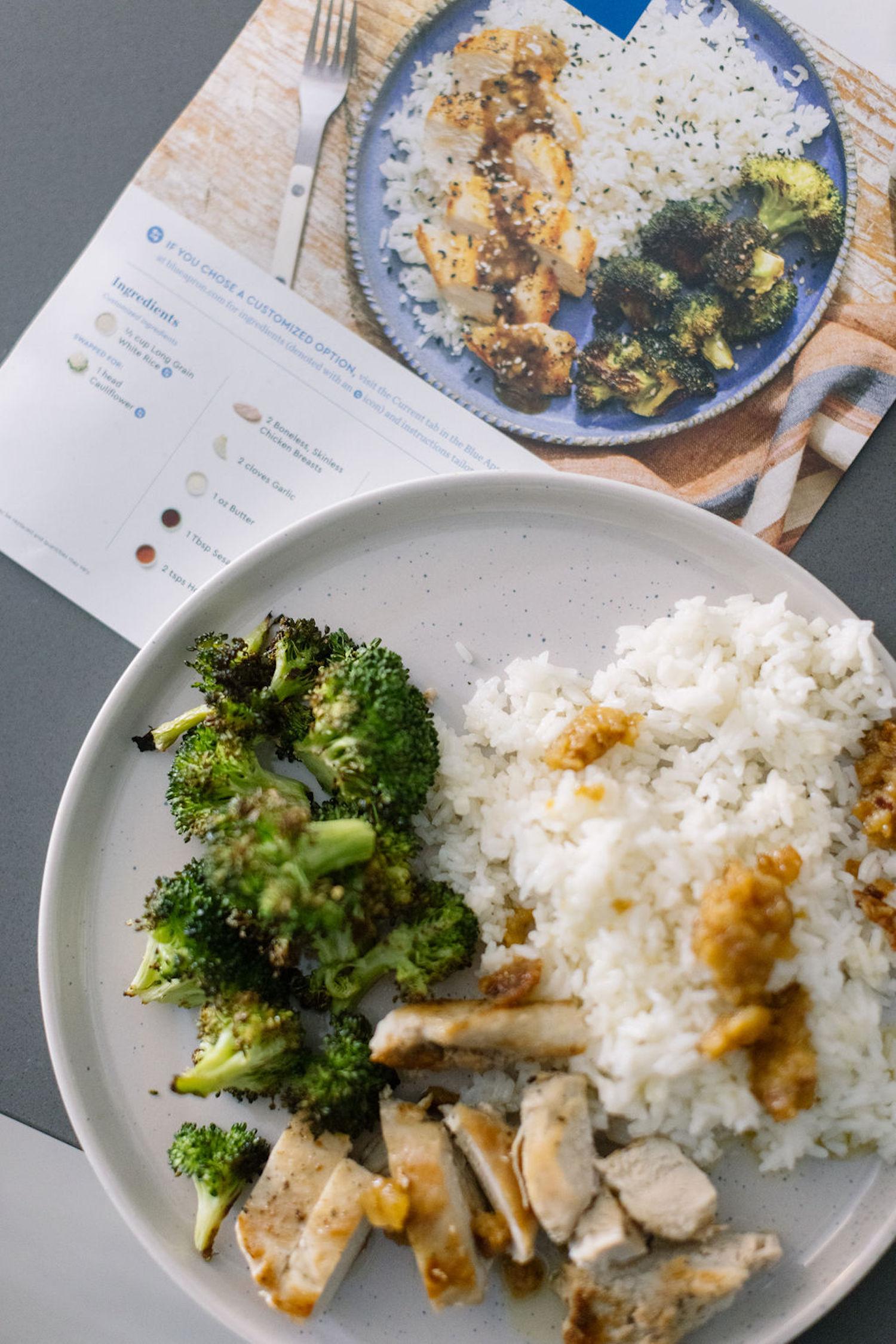 Blue Apron easy recipes