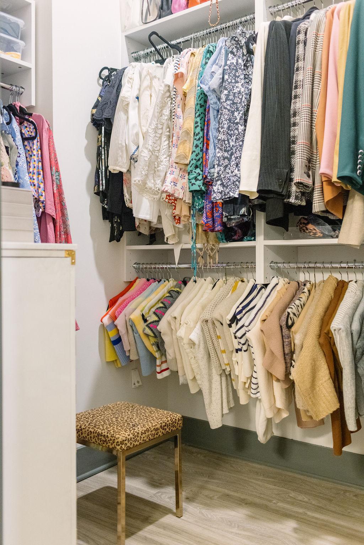 My Charleston Closet (+ The Best Sweater Folding Trick)