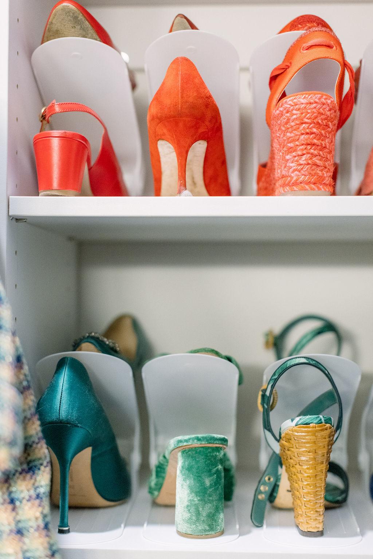 closet shoe risers