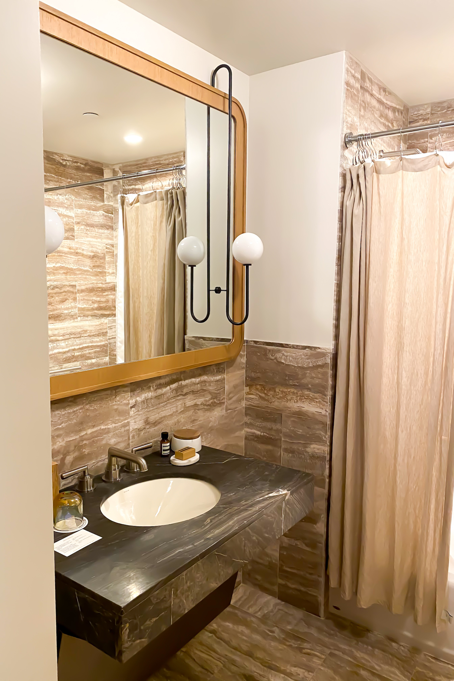 The Proper Hotel bathroom