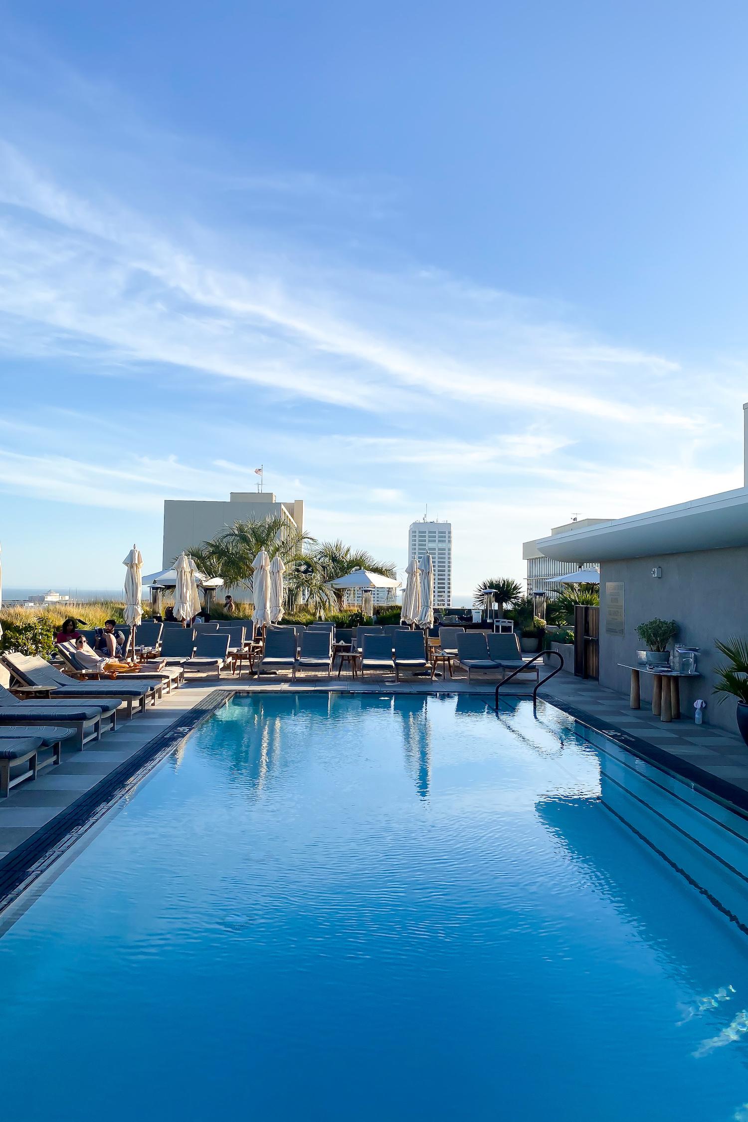 The Proper Hotel pool